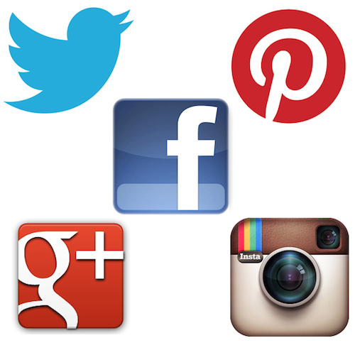 Instagram Pinterest Icons: 100 Amazing Social Media Statistics, Facts And Figures